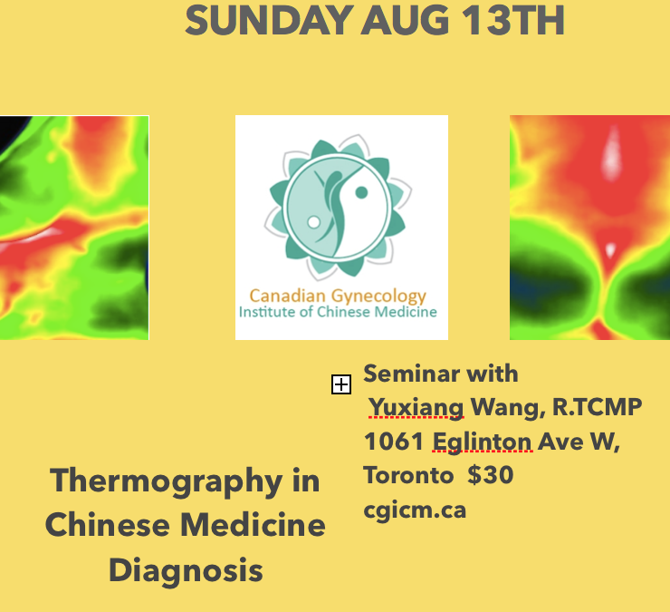 Thermography Seminar Sun Aug 13th